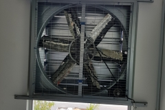 crypto mining exhaust fan system