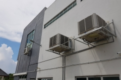 industrial food court air cooler system