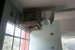 restaurant air cooler system